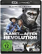 Planet der Affen: Revolution (4K Ultra-HD) (+ Blu-ray) [Edizione: Germania]