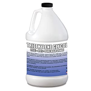 Triethylene Glycol - 99%+ Pure - Highest Possible Purity - in Safety Sealed HDPE Containers with Resealable Cap 1 Gallon (128 Oz.)