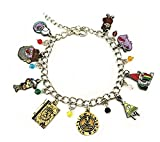 Gravity Falls Themed Assorted Metal Charms BRACELET