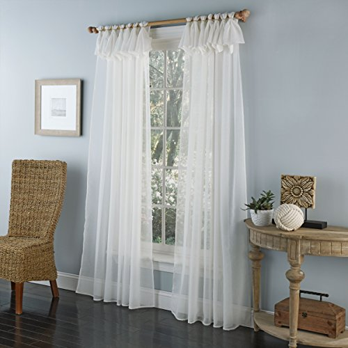 LORRAINE HOME FASHIONS Breeze Tab Top Window Panel, 54