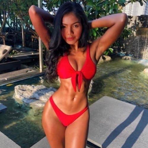 Amazon.com: Bikinis Trajes de Baño Trusas de Playa Biquinis ...