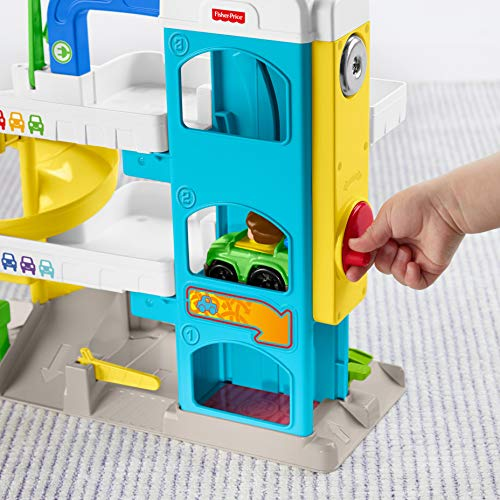 51uXyq3FTjL - Fisher-Price Little People the Helpful Neighbor's Garage