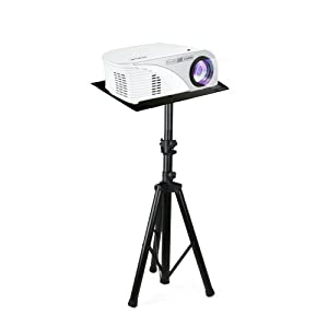 "Pyle Pro DJ Laptop Stand, Projector Stand, Adjustable Laptop Stand, Laptop Stand,Multifunction Stand, Adjustable Tripod Laptop Projector Stand, 30"" to 55"", Good For Stage or Studio (PLPTS7)"