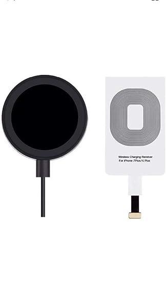 Amazon.com: Receptor de carga inalámbrico ultra delgado ...