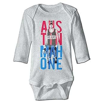 Baby Bodysuit Austin Mahone Long-Sleeve Romper T-Shirt: Clothing