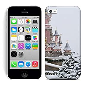 Best Power(Tm) HD Colorful Painted Watercolor Snow And Castle Hard Phone Case For Iphone 5C