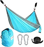 CUTEQUEEN TRADING Nylon Fabric Hammock ,Available in variety of colors and size