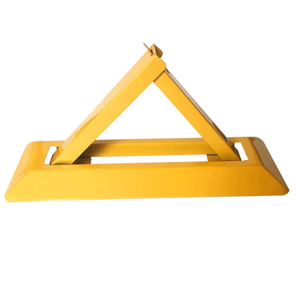 Parking Barrier Lockable Foldable Anti-Pressure Triangle Parking Lock