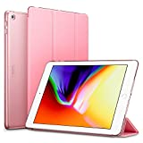 ESR iPad 2017 iPad 9.7 inch Case, Lightweight Smart Case Trifold Stand with Auto Sleep/Wake Function, Microfiber Lining, Hard Back Cover for Apple iPad 9.7-inch,Pink
