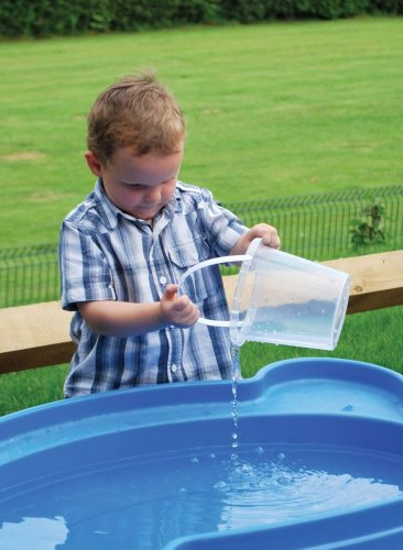 Large Clear Child's Plastic Bucket