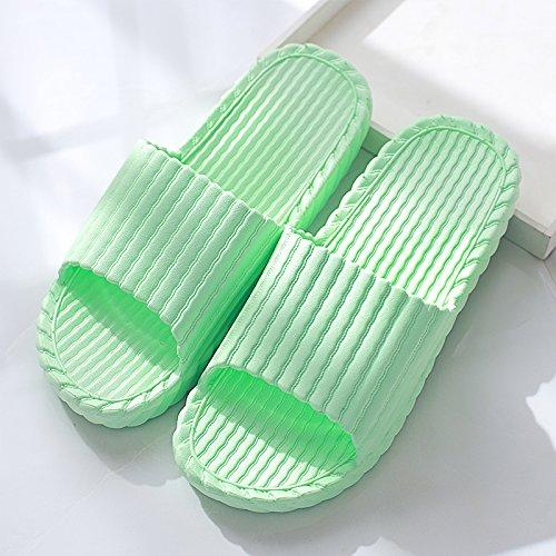 pantofole soggiorno Il coppie indoor femmina cool in Home le plastica verde3 DogHaccd anti estate Il estate bagno spesso ciabatte pantofole maschio slittamento bagno e da dpqgwZf6