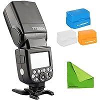 Godox TT685S 2.4G HSS 1/8000s TTL GN60 Wireless Speedlite Flash for Sony A7 A7R A7S A7 II A7R II A7S II A6300 A6000 with EACHSHOT Cleaning Cloth
