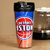 NBA Detroit Pistons Contour Travel Mug, 16 oz