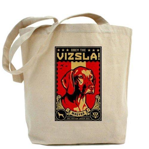 CafePress diseño único American Vizsla- obedecer la V Tote Bag–estándar por CafePress