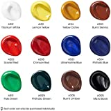 Arteza Acrylic Paint, Set of 12 Colors/Tubes