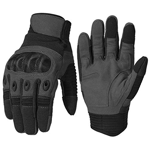 ReFire Gear Military Army Tactical Gloves Hard Knuckle Motorcycle Paintball Airsoft Hunting Gloves