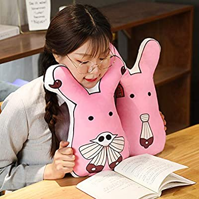 Apehuyuan Toilet-Bound Hanako-kun Mokke Stuffed Figure Plush Doll Toy, Soft Fluffy Decorative Throw Pillows for Couch, Home Living Room Decor(18 × 30 cm Hanako-Kun, Pink): Kitchen & Dining