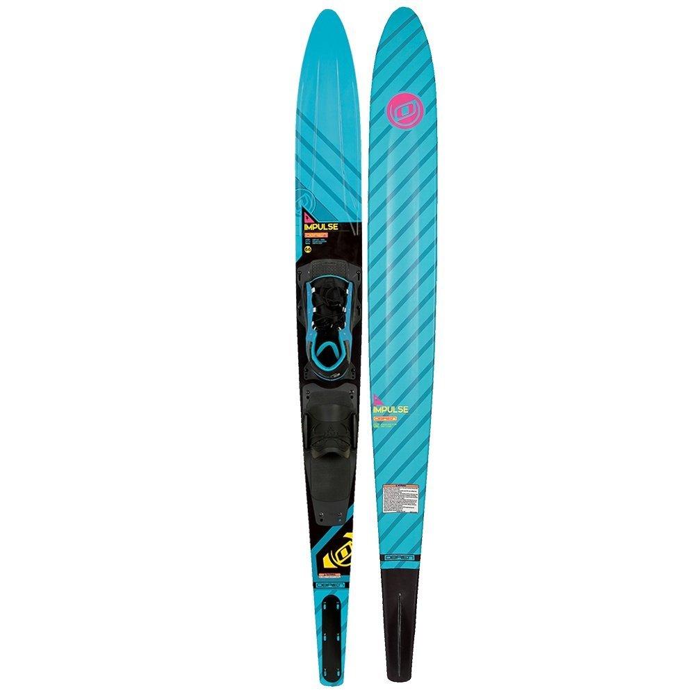 O'Brien Impulse Slalom Waterski W/X-9 Adjustable Binding and Rear Toe Plate (66) by O'Brien