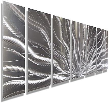 Statements2000 Abstract Fantasy Extra Large Metal Wall Art Panels Indoor/Outdoor Hanging Sculpture
