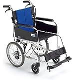 MIKI(ミキ)軽量介助式車椅子BAL-2(ハイポリマータイヤ=ノーパンク)