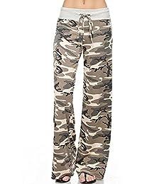 Women's Comfy Pajama Pants Floral Print Drawstring...