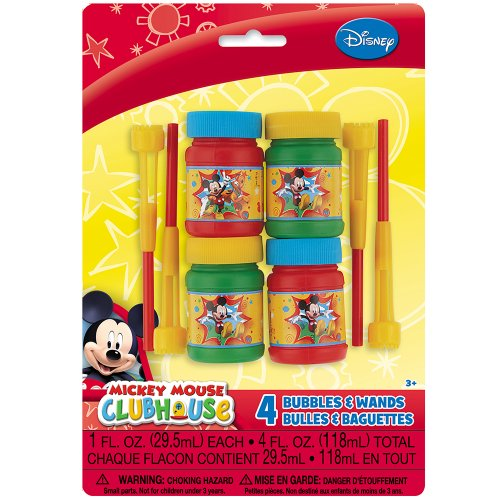 Mickey Mouse Clubhouse Bubbles, (Mickey Bubbles)