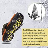 Unigear Traction Cleats Ice Snow Grips with 18 Spikes for...