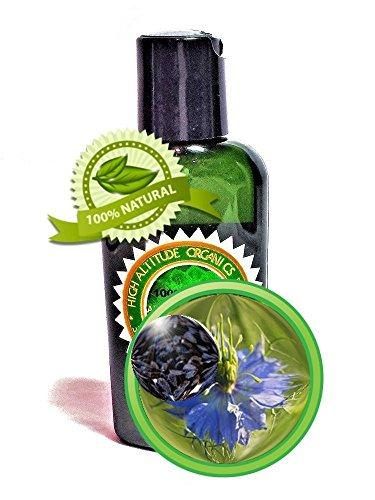 Black Cumin Seed Oil - 2oz - Virgin, Cold-pressed - by High Altitude Organics