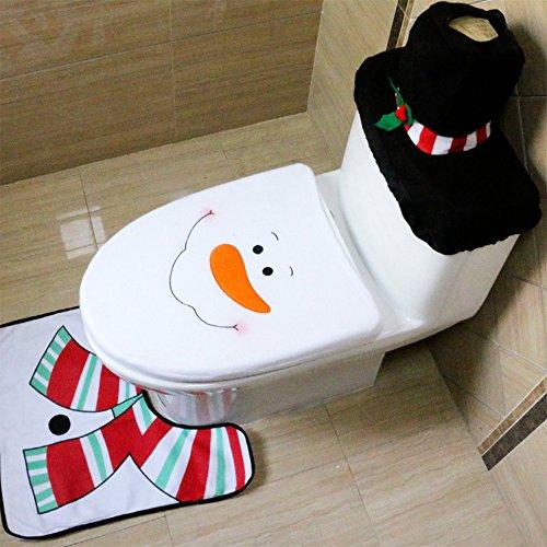 Bathroom Christmas Decorations Supplies Snowman product image