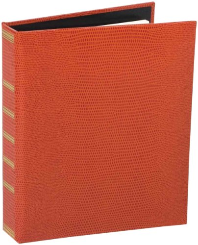 Entertaining with Caspari Loose Leaf Address Book, Orange...