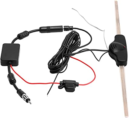 CAR 12V Electronic Stereo AM//FM TV hidden amplifier antenna stronger signal