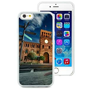 NEW Unique Custom Designed iPhone 6 4.7 Inch TPU Phone Case With Street Signs Old Building_White Phone Case by icecream design