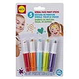 ALEX Toys - Face Painting, Spiral Face Paint Sticks, 379S