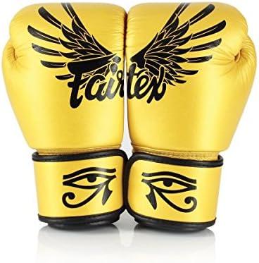 Fairtex ゴールド Falcon フェアテックス ゴールド ファルコン ボクシンググローブ 本革製  8オンス