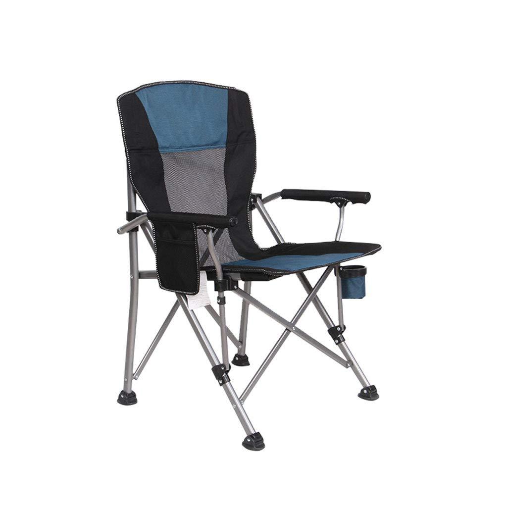 Kaiyu Outdoor Klappstuhl Portable Strand Stuhl Direktor Stuhl Angeln Stuhl Outdoor Sonnenstuhl Grill Klappstuhl 95x58 cm