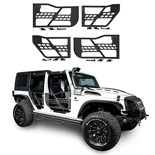 u-Box Jeep Offroad Summer Tube Doors for 07-18 Jeep Wrangler JK-4dr ()