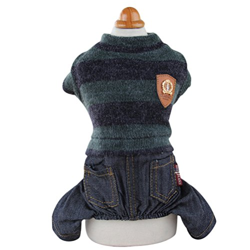 Uniquorn Fashion Winter Clothes Pet Clothes Teddy Bear Puppy Wool Plush Warm Comfortable Four Feet Autumn And Winter (Dog In Wizard Of Oz)