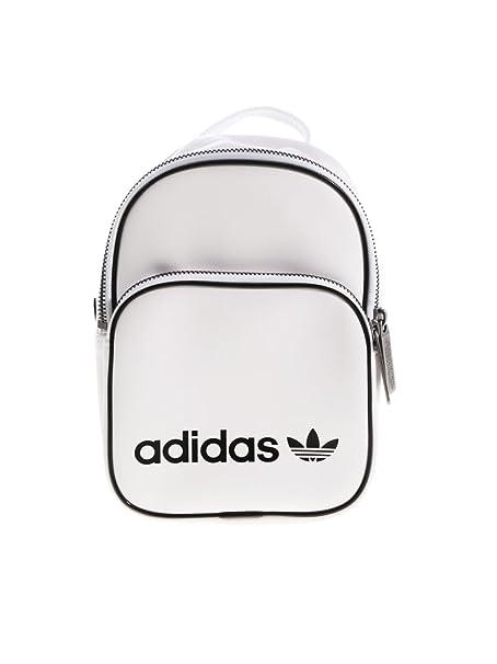 115ae5a903b691 adidas BP CLAS X MINI - Zaini Unisex Adulto, Bianco (Blanco), 24x36x45