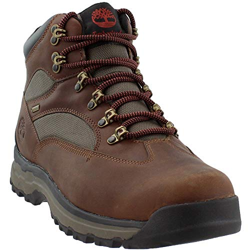 Men's Timberland 10 Gore Full 2 Us Chocorua rMedium 5 Trail Grain Tex Mid Ee Brown TlcKJF13