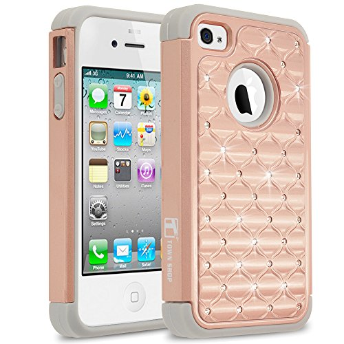 iphone 4s case bling crystal - 5