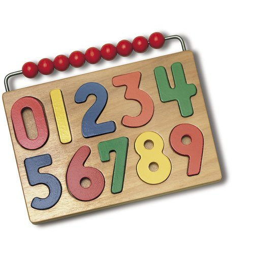 Watch Me Count! Number Puzzle