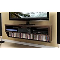 Espresso 58 Wide Wall Mounted AV Console - Series 9 Designer Collection
