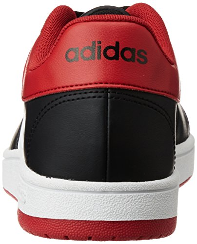 White Red Rouge pour adidas Blanc Ftwr Basketball Le Power Noir Vs Black Homme Hoops Chaussures Core Noir FazWra6