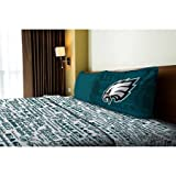 NFL Anthem Philadelphia Eagles Bedding Sheet Set: Twin
