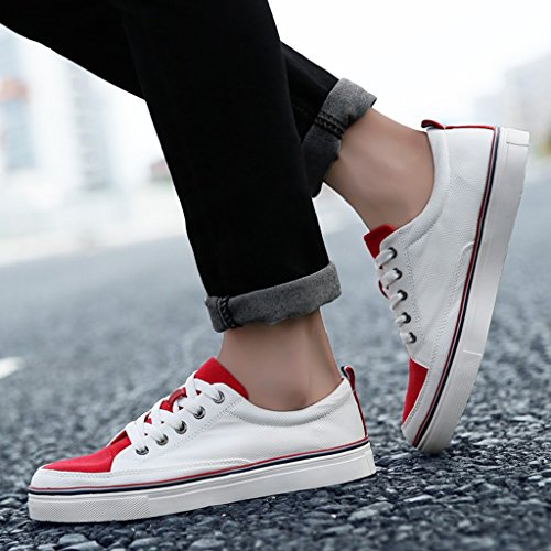 Men's Shoes Feifei Men and Women Shoes Summer Mandarin Duck Shoes Port Wind Harajuku Canvas Shoes 01 w2LaR2JQoi