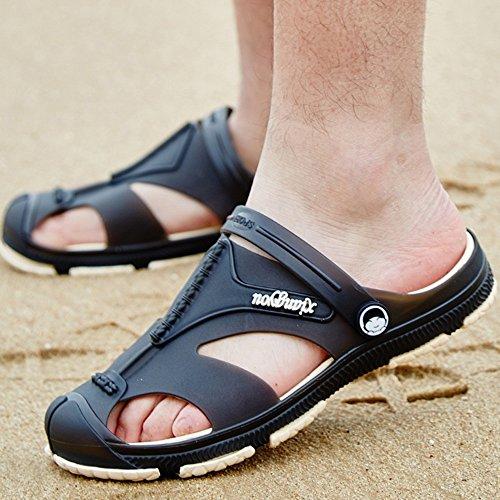 pour unisexes taille Vert Noir CN43 Sandales de adultes sport 5 Couleur UK8 ZHANGRONG EU42 qnHAx4wC