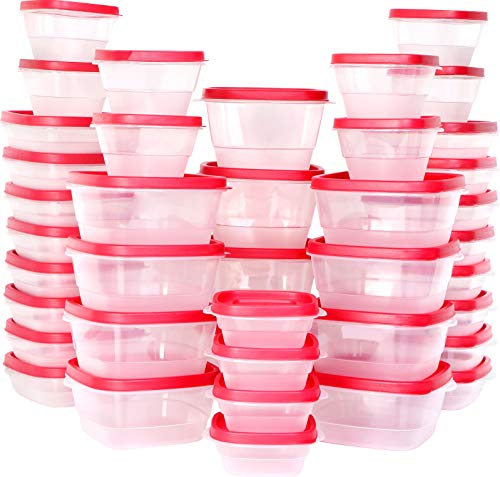 (Utopia Kitchen Plastic Food Storage Containers with Lids [40 Pack])