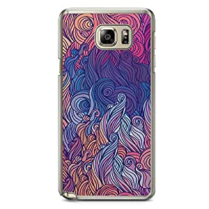 Hairs Samsung Note 5 Transparent Edge Case - Design 4