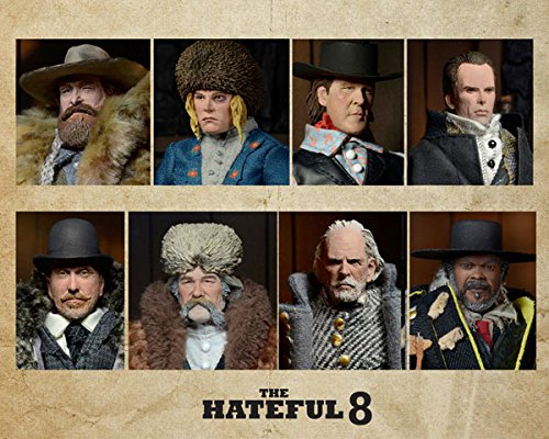 Preorder    Quentin Tarantino's The Hateful Eight  20cm Clothed Deluxe Action Figure Set (3000 pieces worldwide)  No postplanned  b3d1e0