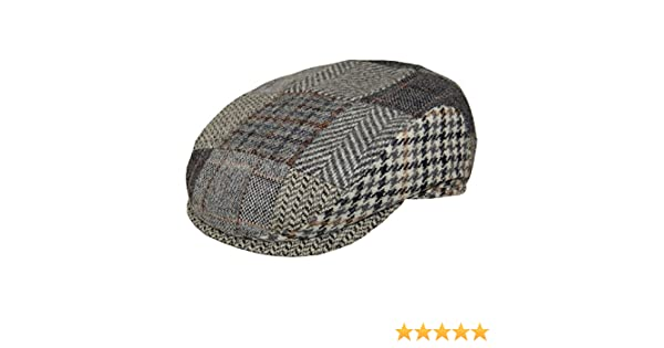 Wigens Otto Limited Edition Ivy Slim Cap-GreyPatchwork-57 at Amazon Men s  Clothing store  85eadc883ed2